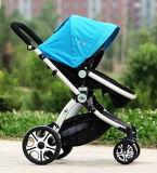 Hete Verkoop 4 in 1 Wandelwagen van de Baby van de Kinderwagen van de Kinderwagen van de Baby