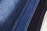 綿のLycraジーンファブリック青いカラーニットのデニムファブリック