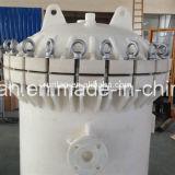 Cárter del filtro de la bolsa de plástico de los PP de la eficacia alta