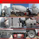 Sinotruk HOWO 6X4 구체적인 1회분으로 처리 차량 구체 믹서 트럭