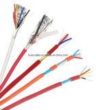 Condutor de cobre cabo protegido do alarme do cabo da segurança com Lsoh/PVC