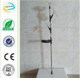 Flower&Bird Metal&Crystal 정원 야드 태양 가벼운 지팡이