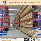 Tormento voladizo del almacenaje resistente de los productos largos del fabricante de Tongrui