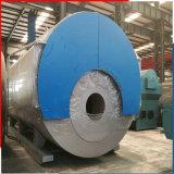 Industrielles Wns5.6-1.0MPa Horizontal Gas und Schmieröl-abgefeuertes Hot Water Boiler