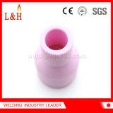 obiettivo di ceramica del gas dell'allumina lunga 53n59L per il cannello per saldare di TIG