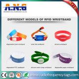 Bracelets remplaçables d'IDENTIFICATION RF de Tyvek bracelet intense pour d'événements/hôpital IDENTIFICATION RF