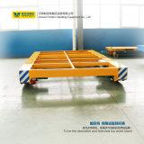Будочка брызга Using электрическая плоская тележка для обрабатывая индустрии