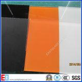 Angestrichenes Glas/Painting-Silk Bildschirm-Glasglas (weiß, schwarz, rot)