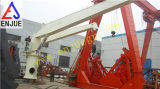 Grue marine de Jip de disposition de grue de boum raide hydraulique électrique