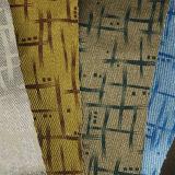 Cuir synthétique estampé tissé mou résistant de PVC d'unité centrale d'abrasion pour des meubles