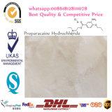 Het farmaceutische Waterstofchloride van Proparacaine van de Rang voor Moordenaar 5875-06-9 van de Pijn
