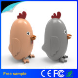 Creativa pollo Cargador portátil Power Bank 4000mAh