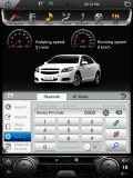 12.1 Automobile Android DVD per l'incrociatore 2007-2015 dello sbarco di Toyota