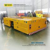 Coche cruzado de dirección eléctrico del transporte de la bahía del vehículo de 25 toneladas