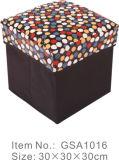 Os pontos imprimiram o tamborete Foldable do armazenamento 600d