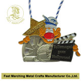 Medaglia d'argento con un nastro (sagola), premio Karnevalsorden per il ricordo