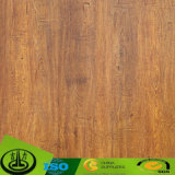 Papel decorativo da grão de madeira Satisfied para o assoalho e a mobília