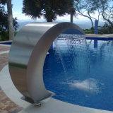 Cortina de agua del acero inoxidable del BALNEARIO de la piscina