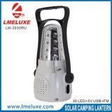 indicatore luminoso di campeggio di carico ricaricabile portatile del USB del LED