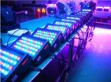 evento claro claro do estágio Nj-L54c da PARIDADE do diodo emissor de luz da luz da lavagem da parede do diodo emissor de luz 54*3W que Wedding a iluminação ao ar livre do jardim