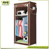De vouwbare Garderobe van de Slaapkamer van Armoire van de Garderobe Moderne Kleine Goedkope