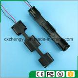 support de la batterie 6AA avec fils de fil rouges/noirs (long type)