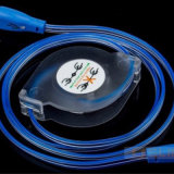 1m de Draagbare Kabel van de Reis USB voor Androïde iPhone