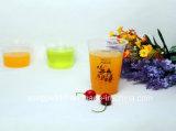 Wegwerfplastikcup-Milch-Tee-Cup-transparentes Plastiksaft-Cup unterstützt Kundenbezogenheit