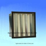 Ventilaton Minifilter des falte-Vertrags-V der Bank-HEPA