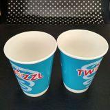 Doubles cuvettes de café chaudes de vente chaudes de papier de mur à vendre