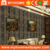 Papier peint italien de modèle de mur d'allumeur à la maison de papier