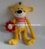 よい刺繍を持つ赤ん坊のためのプラシ天のかわいく柔らかい犬