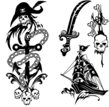 Tattoo искусствоа стикера Tattoo переноса воды Tattoo змеенжша временно