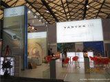 Изготовленный на заказ выставочный зал будочки экспоната стройки стойки индикации системы штрангя-прессовани
