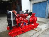 Bomba de água centrífuga horizontal do único estágio de motor Diesel