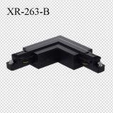パソコン材料2ワイヤーLED照明トラックL部分のコネクター(XR-263)