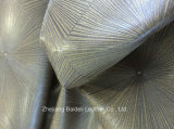 Tissu de capitonnage de couleur de son deux pour le sofa/meubles/décoration intérieure