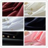 Prodotto intessuto 100% della saia del poliestere della tessile per la camicia