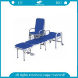AG-AC002 참을성 있는 룸에 의하여 이용되는 색깔 선택적인 Foldable 병원 기대는 침대 의자