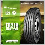 pneus sem câmara de ar do orçamento do pneu do caminhão leve do pneumático 11r24.5 com termo de garantia