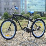 """Lithium-Batterie-Strand-elektrisches Fahrrad des heißen Verkaufs-26 """" (RSEB-1214)"""