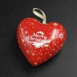 Regalo en forma de corazón caja de la lata para el recuerdo / de embalaje de la joyería (H001-V5)