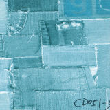 Jeans Tissus en tissu Papier pour meubles