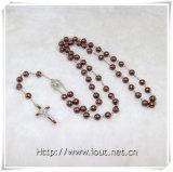 Rosary стеклянных бусин, католические Rosaries (IO-cr344)