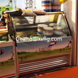 Cabina de visualización del helado de Gelato