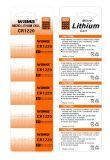 Lange Lebenszeit-Münzen-Batterie Cr1220