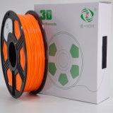 boisseau blanc du filament 1kg d'imprimante de PLA 3D de 1.75mm (2.2 livres) pour l'imprimante 3D