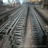 Junção de expansão de aço para a estrada