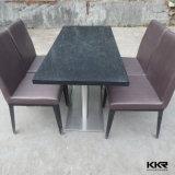 Таблицы и стулы трактира Kingkonree черные акриловые каменные