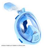 Das neue Produkt, das volles Gesichts-SporttauchenSnorkel schwimmt, scherzt Schablone